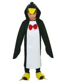 Kostuum pinguïn met vlinderstrik
