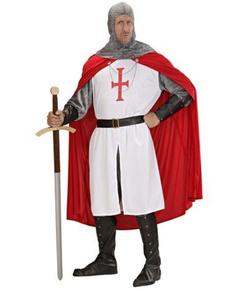 Kruisvechter kostuum voor mannen grote maat