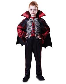 Kostuum graaf vampier voor jongens