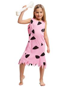 Kleine holbewoner kostuum voor meisjes