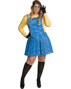 Kostuum Minion voor vrouwen grote maat