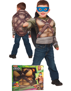 Kostuum Ninja Turtle voor jongens in geschenkdoos