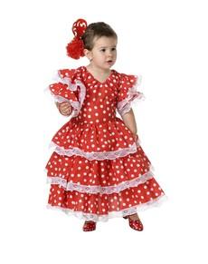 Flamenco kostuum voor baby